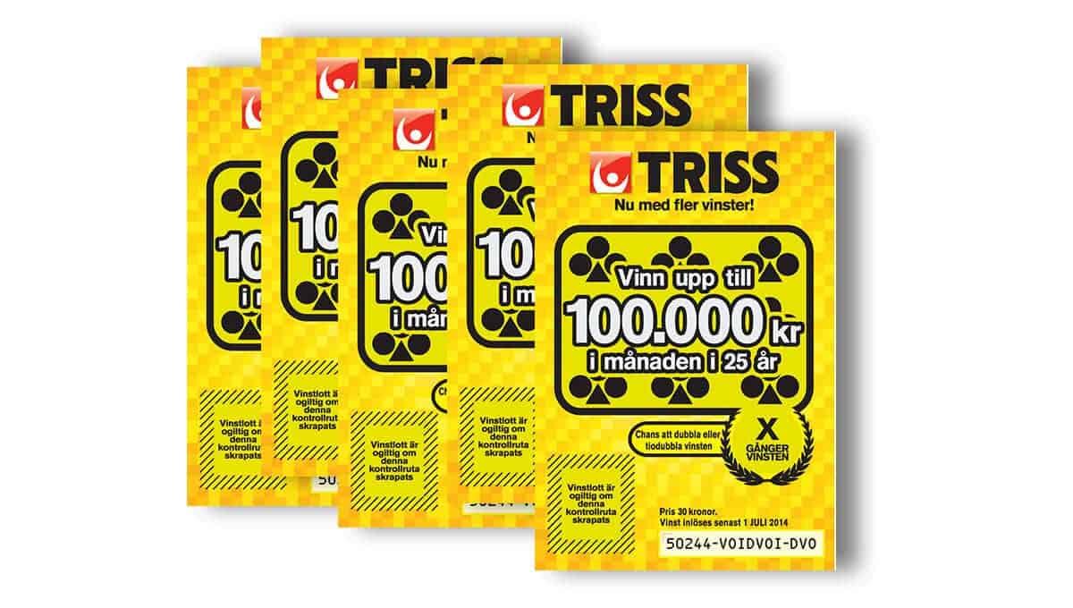 Prenumeration på Trisslotter