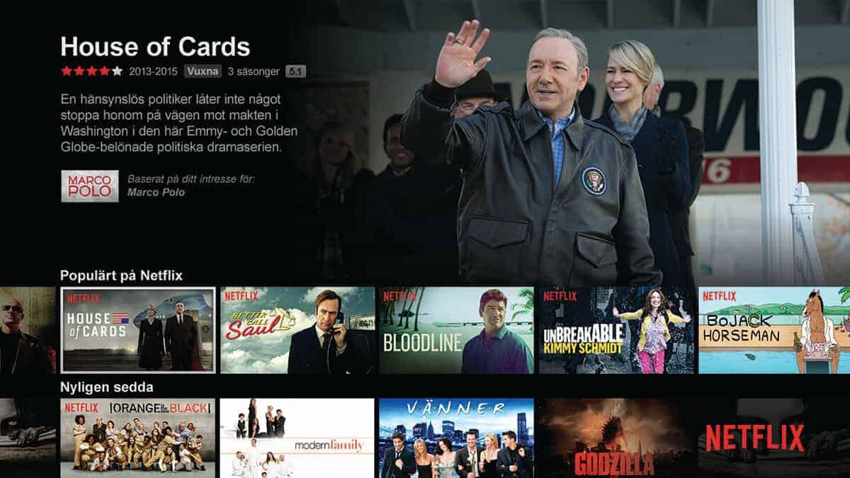Prova Netflix 1 månad gratis
