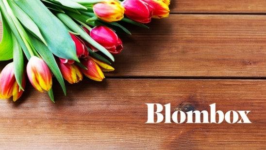 Blombox prenumeration blommor