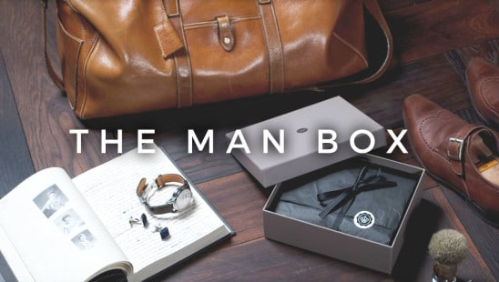 Glossybox The Man Box Grooming Prenumeration
