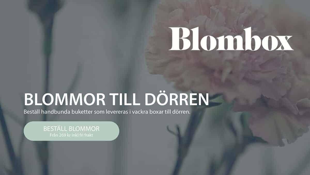 Prenumerera på blommor Blombox