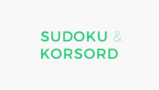 Sudoku & Korsord