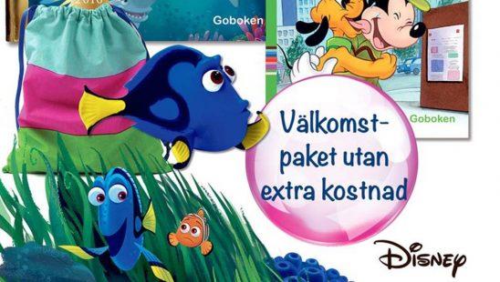 Disneyklubben Hitta Doris, Musse och djuraffären, Doris-figur och tygpåse