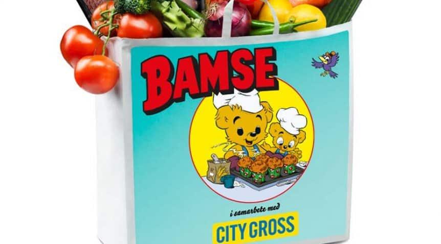 Bamses matkasse från City Gross