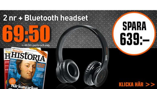Prenumeration Tidning Populär Historia + Bluetooth-hörlurar Premie.jpg