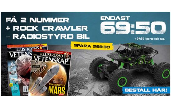 Prenumeration Illustrerad Vetenskap + Rock Crawler Premie