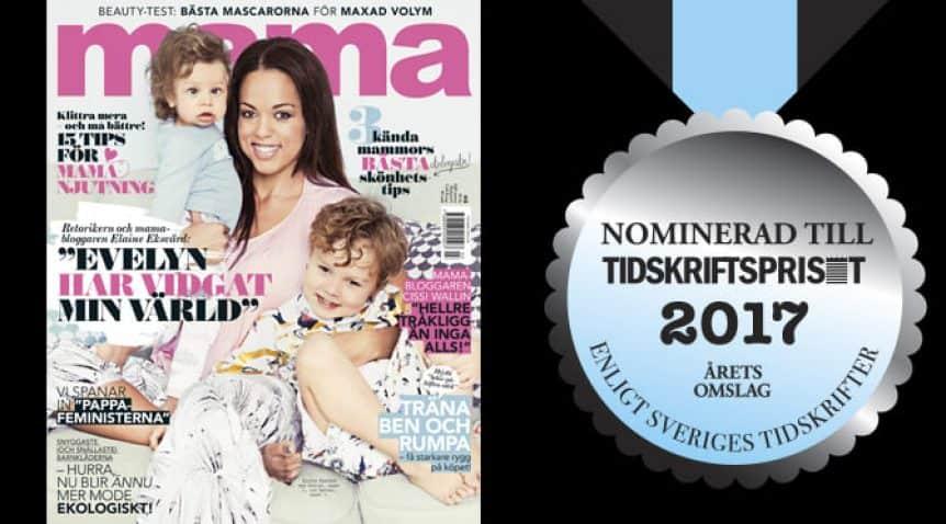 Mama kan vinna titeln Årets Omslag