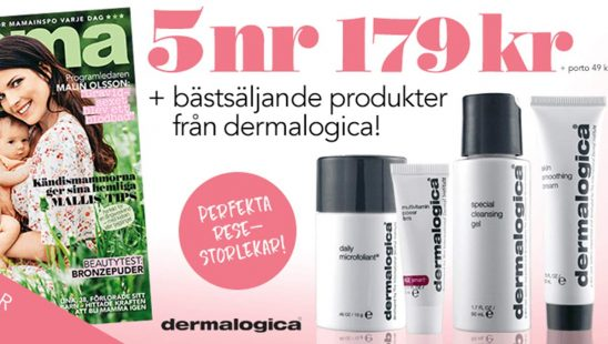 Prenumeration Mama + Dermalogica Kit Premie
