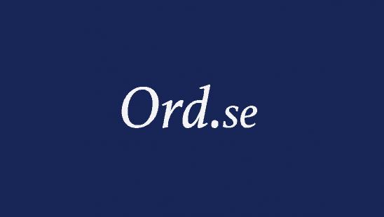 Prenumeration Ord.SE