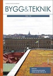 Prenumerera 8 nummer av Bygg & teknik