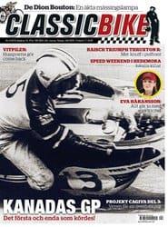 Prenumerera 9 nummer av Classic Bike