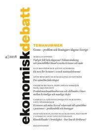 Prenumerera 4 nummer av Ekonomisk Debatt