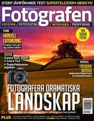 Prenumerera 8 nummer av Fotografen