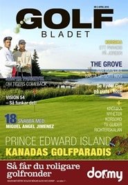 Prenumerera 5 nummer av Golfbladet