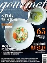Prenumerera 20 nummer av Gourmet