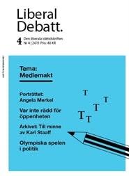 Prenumerera 6 nummer av Liberal Debatt