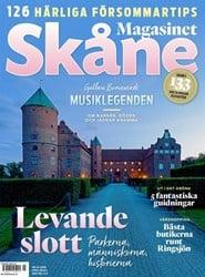 Prenumerera 12 nummer av Magasinet Skåne
