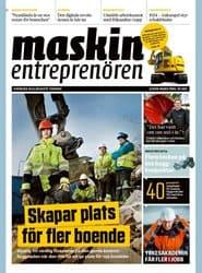 Prenumerera 10 nummer av Maskinentreprenören
