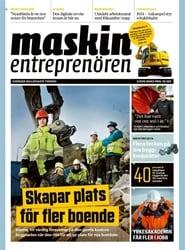 Prenumerera 3 nummer av Maskinentreprenören