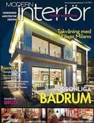 Prenumerera 3 nummer av Modern Interiör