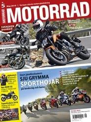 Prenumerera 10 nummer av Motorrad