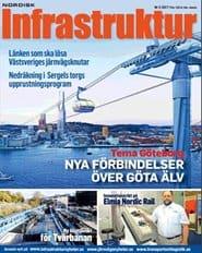 Prenumerera 6 nummer av Nordisk Infrastruktur
