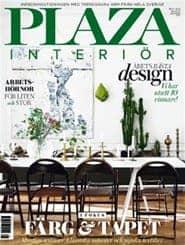 Prenumerera 10 nummer av Plaza Interiör