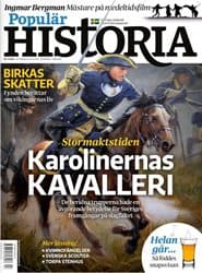 Prenumerera 6 nummer av Populär Historia