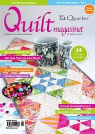 Prenumerera 6 nummer av Quiltmagasinet