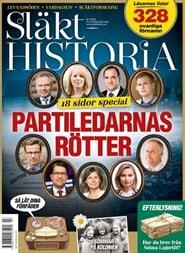 Prenumerera 8 nummer av Släkthistoria