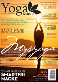 Prenumerera 8 nummer av Yoga World