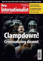 Prenumerera 6 nummer av New Internationalist