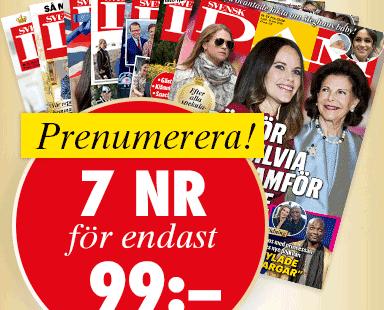 svensk damtidning erbjudande