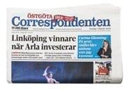 Prenumerera 90 nummer av Östgöta Correspondenten