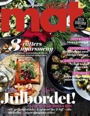 Prenumerera 18 nummer av Allt om Mat