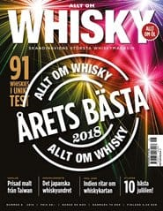 Prenumerera 6 nummer av Allt om Whisky