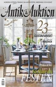 Prenumerera 24 nummer av Antik & Auktion