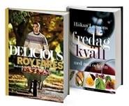 Prenumerera 1 nummer av Bokpaket Mat Delicious + Fredagkväll med mat och vin