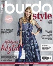 Prenumerera 6 nummer av Burda Style