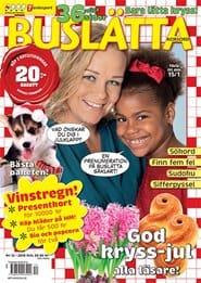 Prenumerera 6 nummer av Buslätta Korsord