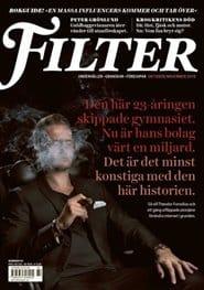 Prenumerera 12 nummer av Filter