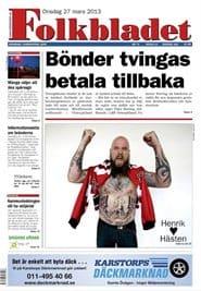 Prenumerera 90 nummer av Folkbladet