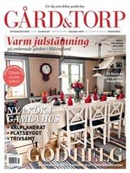 Prenumerera 11 nummer av Gård & Torp