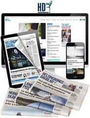 Prenumerera 90 nummer av Helsingborgs Dagblad