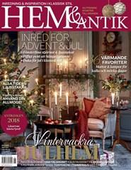 Prenumerera 3 nummer av Hem & Antik