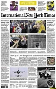 Prenumerera 50 nummer av International New York Times (Saturday Only)