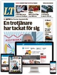 Prenumerera 144 nummer av Länstidningen i Södertälje (LT)