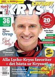 Prenumerera 8 nummer av Lycko-Kryss