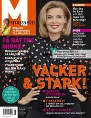 Prenumerera 9 nummer av M-magasin