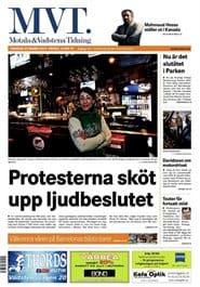 Prenumerera 90 nummer av Motala & Vadstena Tidning